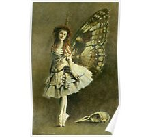 Victorian Gothic Fairy Poster
