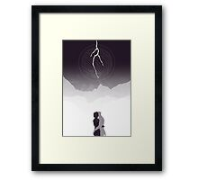 You change… Everything. Framed Print
