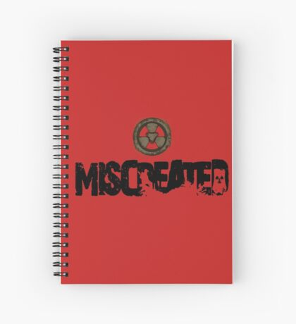 Miscreated Design 1  Red (Official) Spiral Notebook