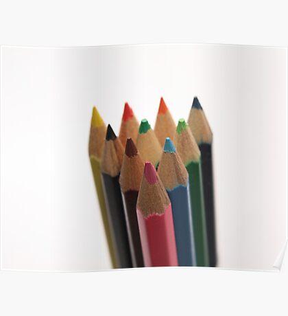 crayons Poster