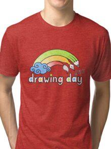 Drawing Day ~ Logo Tri-blend T-Shirt
