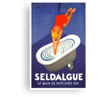 Leonetto Cappiello Affiche Seldague Canvas Print