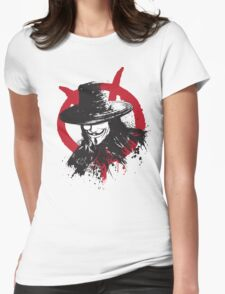 Revolution is Coming Womens Fitted T-Shirt