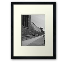 Desolate and Abandoned Framed Print