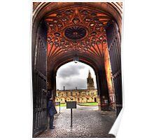 Vaulted Ceiling - Oxford Poster