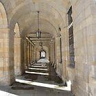 Passageway, Santiago de Compostela, Spain by Steve