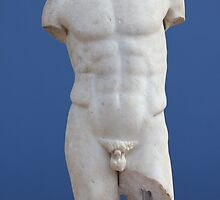 Ancient Male Torso by Nasko .