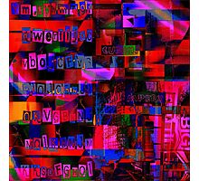 1648 Abstract Thought Photographic Print