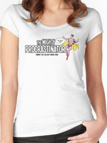 The Mighty Procrastinator Women's Fitted Scoop T-Shirt