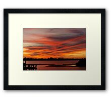 Warmth of love Framed Print