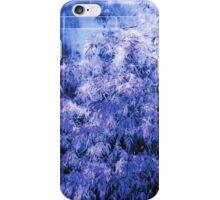 Blue Shrub iPhone Case/Skin