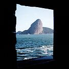Framed Sugar Loaf by arteparada