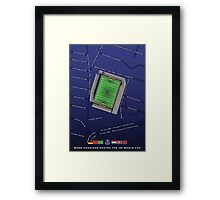 1966 World Cup at Goodison Park Framed Print