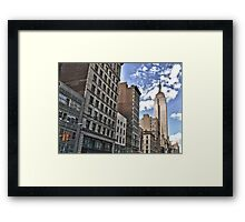 Empire State Building, New York City Framed Print