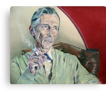 Actor Peter Cushing Canvas Print