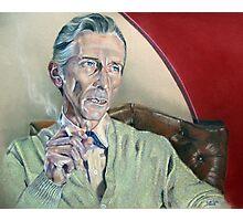 Actor Peter Cushing Photographic Print