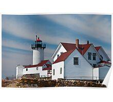 Eastern Point Light - Gloucester Massachusetts Poster