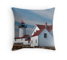 Eastern Point Light - Gloucester Massachusetts Throw Pillow