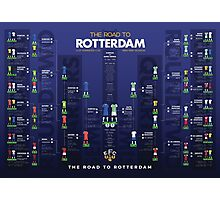 The Road to Rotterdam - 1985 Cup Winners Photographic Print