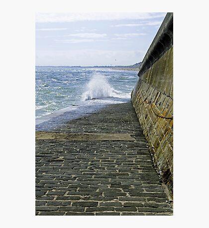 Slipway Splash, Bridlington Harbour Photographic Print