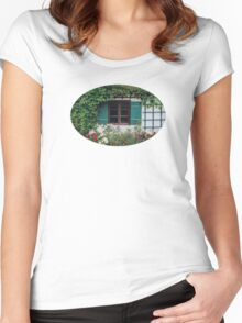 The Charming Garden Women's Fitted Scoop T-Shirt