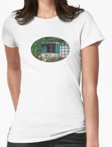 The Charming Garden Womens Fitted T-Shirt