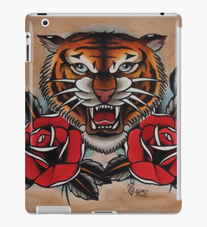 Tiger - TATTOO iPad Case/Skin
