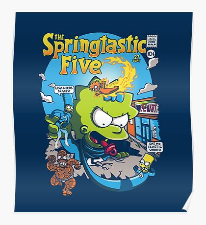 Springtastic 5 Poster