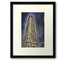 Tower of Learning Framed Print