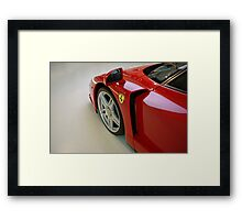 Ferrari Enzo - Detail Framed Print