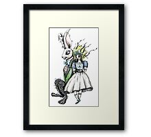 Are you lost? Combo Framed Print