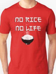 No Rice No Life T-Shirt