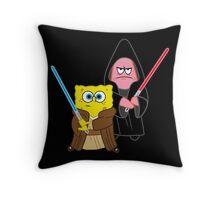Sponge Wars Throw Pillow