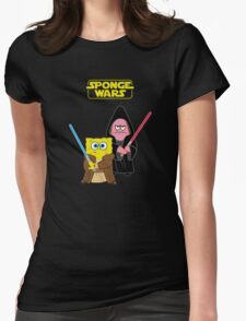 Sponge Wars Womens Fitted T-Shirt