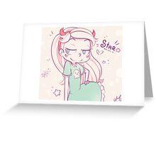 Star Greeting Card