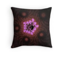 Escher lights Throw Pillow