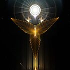 The Light Of Hope On Golden Wings by xzendor7