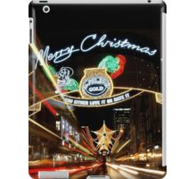Christmas in London iPad Case/Skin