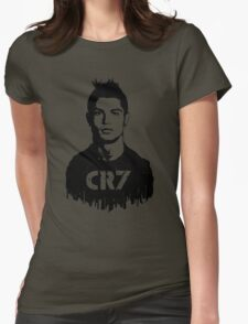 CR7 tattoo Womens Fitted T-Shirt