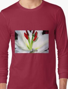The Heart Of A Lily Long Sleeve T-Shirt