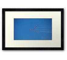 Aerial Acrobatics Framed Print
