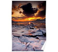 Sun over Ice Poster