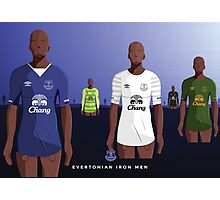 Everton Iron Men Photographic Print