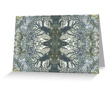 Silver Snowflake (Marcasite in Agate) Greeting Card