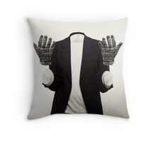 The Man Who Could Not Touch Throw Pillow