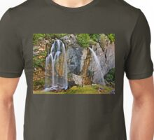 "The ""twin"" waterfalls of Souda Unisex T-Shirt"