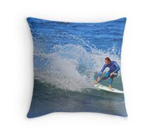 In the frame at Bells Throw Pillow