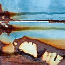 Rocks on the Beach by Barbara Ingersoll