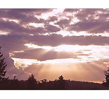 Beautiful Rays Photographic Print