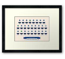 Everton Giants - 2015 Framed Print